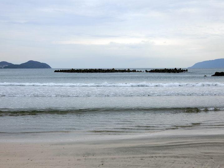 メバリング釣行前に敦賀湾各所の水温を測定