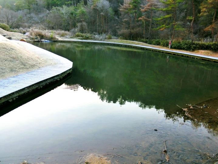 本当の意味でのなごみの湖での釣り開始