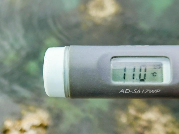 30分程したら少し水温が上がりメバルがちらほら見えるように