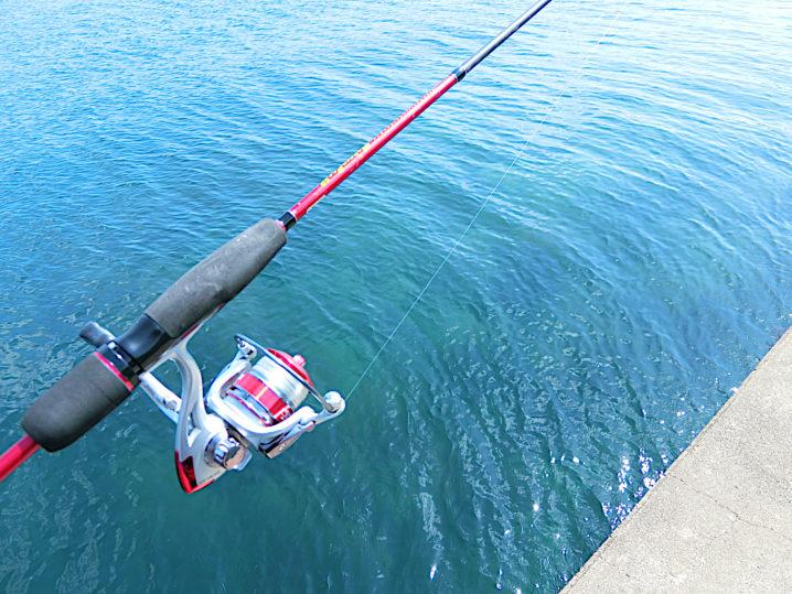 キスのルアー釣りのロッドは7フィート前後のメバリング・アジングロッド
