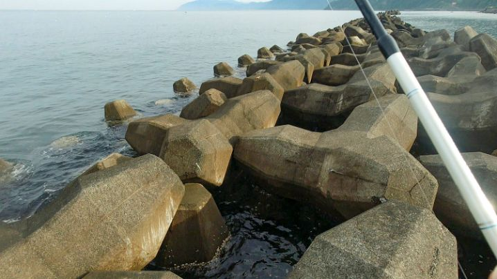 スイミング穴釣りの釣り方と使用するルアーの説明