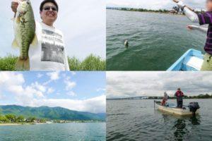 2020年6月中旬琵琶湖南湖・北湖でバス釣り大会|2艇のボートのヒットルアーとパターンを紹介