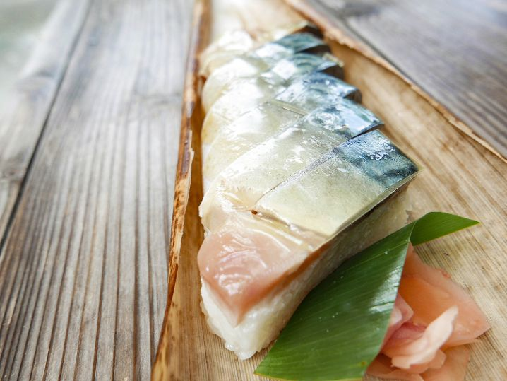 【栃生梅竹の特上鯖寿司】は本当に絶品!