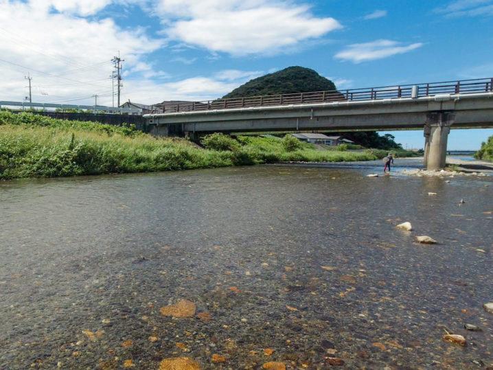 福井県の三方周辺の川へ