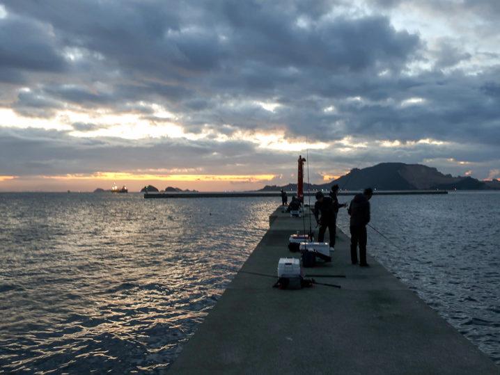 のりくら渡船を使って家島の沖防波堤へ2