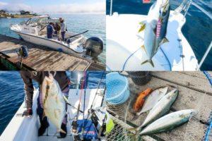 11月上旬京都オフショアジギング|GPS魚探付のレンタルボート屋とヒットパターンの紹介