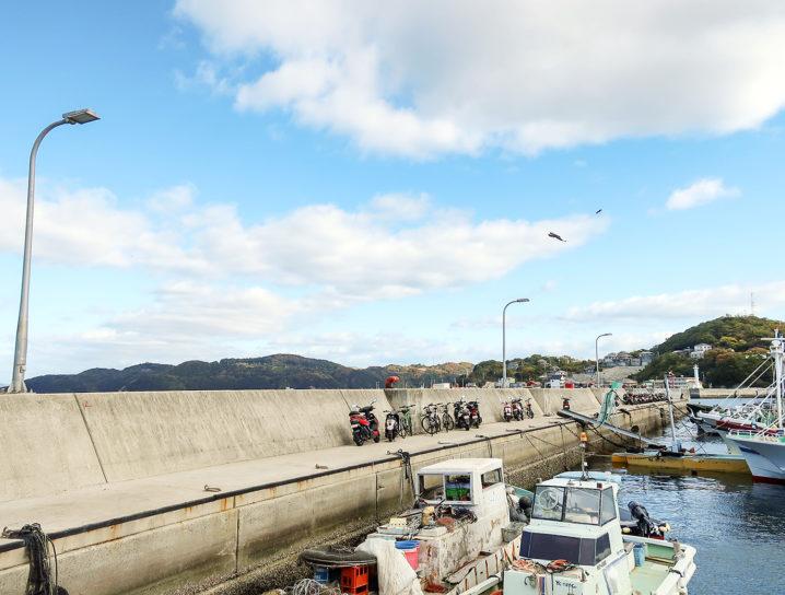 坊勢島の各ポイントをチェック2