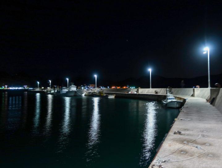 坊勢島で一番潮が効くポイントに到着