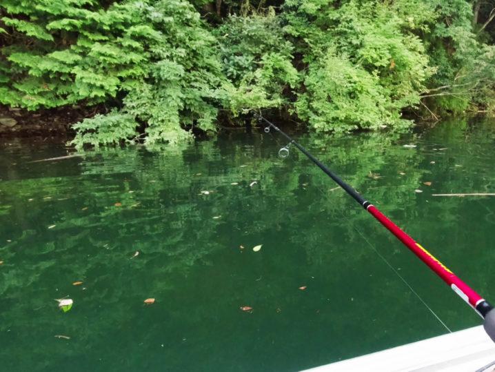8月下旬七色ダムでのバス釣り大会のルール