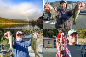 11月下旬奥琵琶湖バス釣り大会|6人の釣りをまとめて分かったヒットパターンを紹介