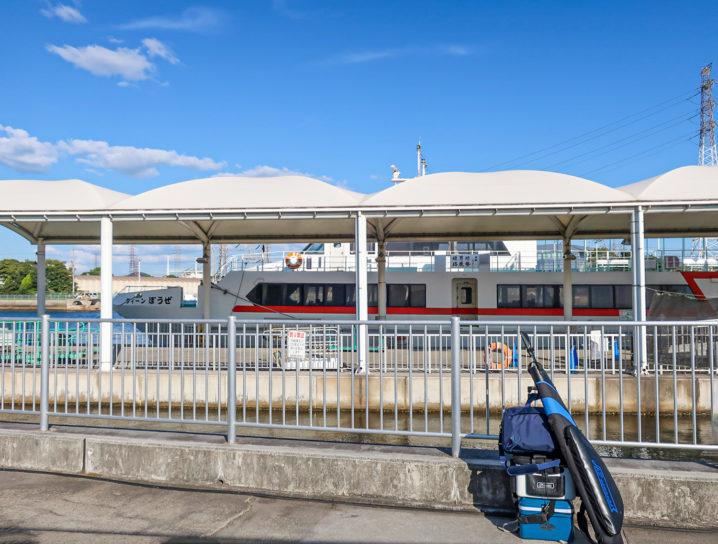 坊勢島には姫路港からフェリーで行く事ができます