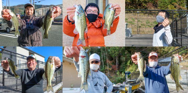 6人の自己紹介と琵琶湖(大浦湾・奥出湾)のバス釣りの様子をお伝えします