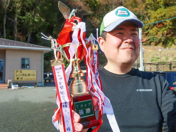 バス釣り大会年間総合優勝者は【キャノピーさん】2