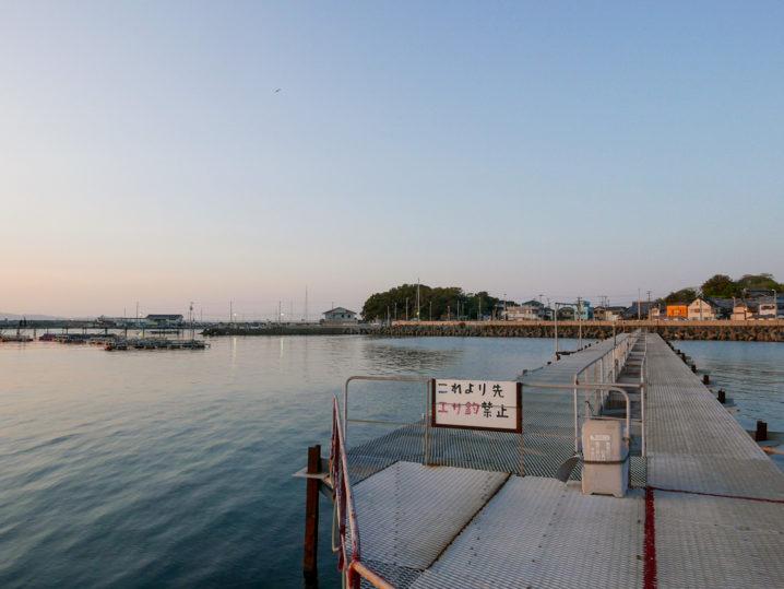 小島養漁場ルアーエリア周辺