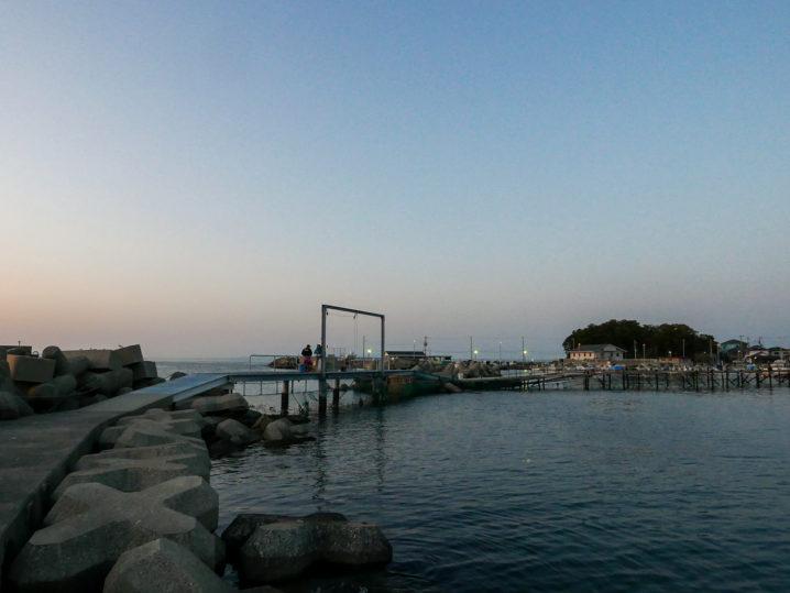 小島養漁場Cポイント周辺