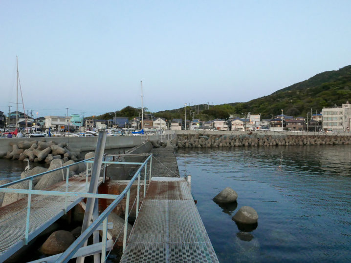 小島養漁場Eポイント周辺