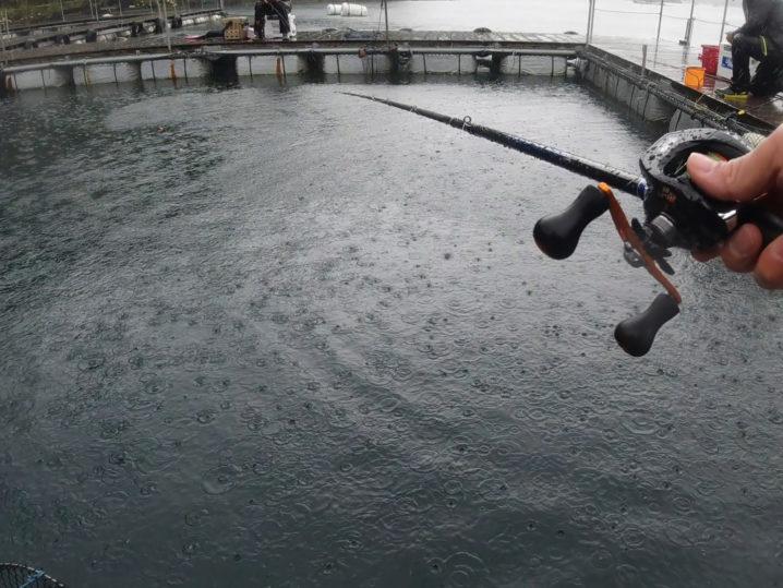 釣りおじさんとそのお連れさんが到着して釣り開始!